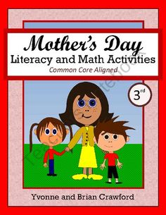 Mother's Day No Prep Math and Literacy Activities is a packet of 41 pages with a focus on math and literacy skills. Teaching Activities, Learning Resources, Teaching Ideas, Learning Games, Holiday Activities, Summer Activities, Education And Literacy, Literacy Skills, First Grade