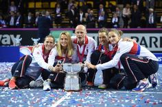 #CzechRepublic #Tennis #FedCup Fed Cup, Tennis Players, Czech Republic, Champs, Finals, Final Exams, Bohemia