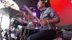 Lee Levin Drum Cam-You Should Be Dancing