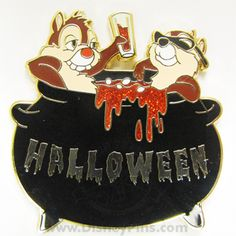 Halloween 2009 - Chip and Dale | Disney Pin