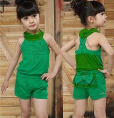 $25.00 (Buy here: https://alitems.com/g/1e8d114494ebda23ff8b16525dc3e8/?i=5&ulp=https%3A%2F%2Fwww.aliexpress.com%2Fitem%2FFree-shipping-new-2013-summer-korean-children-s-clothing-girls-spaghetti-strap-t-shirt-shorts-sets%2F965523379.html ) Free shipping new 2013 summer korean children's clothing girls spaghetti strap t-shirt+shorts sets fashion twinset 3 colors for just $25.00