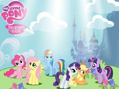 My Little Pony Coloring Pages Hd : My little pony happy birthday coloring page for kids holiday