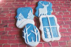 winter cookies | Cookie Connection