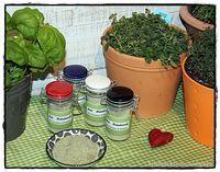 Italienisches Kräutersalz aus frischen Kräutern brotbackliebeundmehr  Foodblog