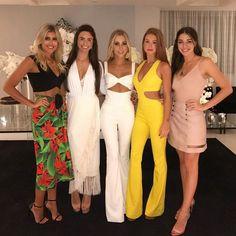 Dandynha Barbosa, Jade de Carvalho Rezinski, Paula Aziz, Marina Ruy Barbosa e Luma Costa (Foto: Reprodução/Instagram)