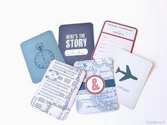 Make a plane card