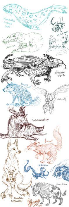 Avatar creature dump 2 by marsu305.deviantart.com on @DeviantArt