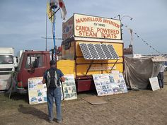 Solution to Pollution Solar Power! Candle Powered Steam Boats at the Great Dorset Steam Fair