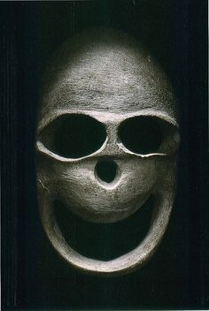 Funerary mask, Middle East, Chalcolithic period (5,000-3,000 BC)