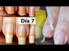 CoMO HACER CRECER TUS UÑAS RAPIDISIMO CON AJO Y ACEITES - AANGIE - YouTube Grow Long Nails, Grow Nails Faster, How To Grow Nails, Natural Nails, Natural Skin Care, Jade Nails, Body Scrub Recipe, Cute Acrylic Nails, Nail Care