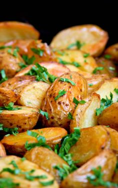 Oven Roasted Melt In Your Mouth Potatoes