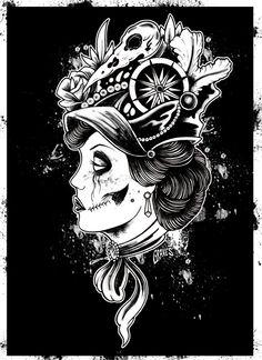 Black and Whites by Allan Graves, via Behance