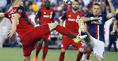 FOXBOROUGH, Mass. (AP) Juan Agudelo had a goal and an assist, Benjamin Angoua added his first career MLS goal and the New England Revolution beat Toronto FC 3-0 on Saturday night. Angoua headed home a corner kick by Lee Nguyen in the 17th minute, Fagundez added a goal in the 66th, and Agudelo...
