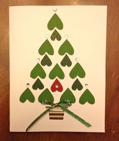 Christmas Tree of Hearts