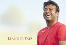 Leander Paes Indian Tennis Player Wallpaper