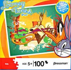 Looney Tunes jigsaw puzzle: Road Runner & Wile E. Coyote (100-piece) Only $4.97