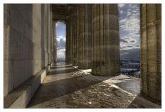 Walhalla - Donaustauf -> Wundervoller Ausblick und egal wann immer eine tolle Stimmung..