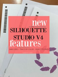 Silhouette Studio V4 features update