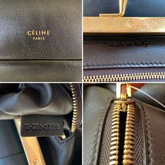 Get the trendiest Clutch of the season! The Céline Pleated Purse Black Smooth Calfskin Leather Clutch is a top 10 member favorite on Tradesy. Louis Vuitton Neverfull Damier, Louis Vuitton Speedy 25, Black Clutch, Leather Clutch, Brown Leather Totes, White Leather, Celine Clutch, Celine Nano Luggage, Canvas Leather