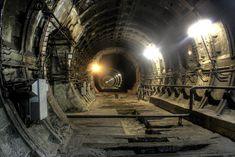 Abandoned metro tunnel 4 by Ssaash.deviantart.com on @deviantART