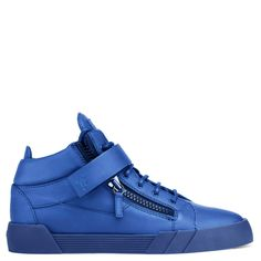 THE SHARK 3.0 - BLUE - Mid Tops