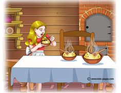 Goldilocks and the Three Bears 3 Goldilocks And The Three Bears, 3 Bears, Kids Pages, English Activities, Retelling, Stories For Kids, Fairy Tail, Coloring Pages, 3 D