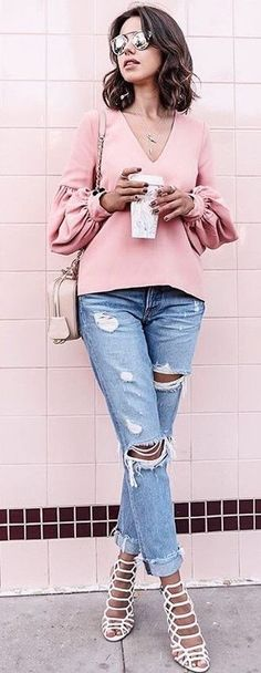 Pink + Denim                                                                             Source