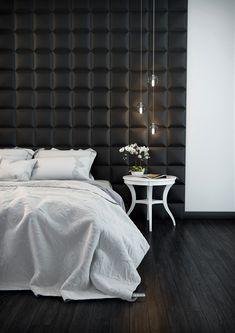 Med Arstyl Square dekorplate kan du skape moderne elementer i interiøret. Bruk den i en nisje, som en sengegavl eller i en trappeoppgang. Her er det bare fantasien som setter grenser. Tiles, Bedroom Designs, Wall, Furniture, Decorations, Home Decor, Home Decoration, Modern, Wall Design