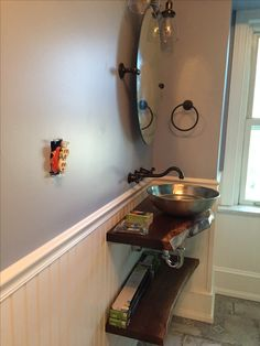 AFTER: Sink area Laundry Room, Sink, Sink Tops, Vessel Sink, Vanity Basin, Laundry Rooms, Sinks, Wash Stand, Laundry
