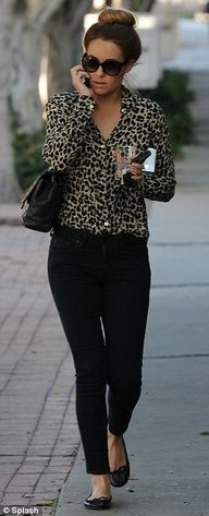 I love the leopard print right now!
