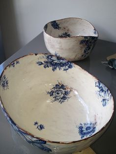 Hand painted ceramics by Maria Kristofersson at Cave Interiors