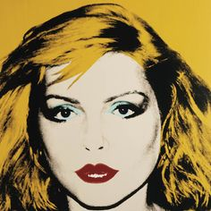 This silk screen by Andy Warhol from 1980 is a portrait of Debbie Harry. (Andy Warhol Museum/Montreal Museum of Fine Arts) Andy Warhol Pop Art, Andy Warhol Portraits, Andy Warhol Museum, Roy Lichtenstein, Jasper Johns, Robert Rauschenberg, Arte Pop, Famous Musicians, Famous Artists