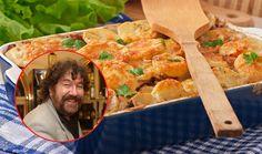 Chcete-li připravit řízky trochu jinak a přitom neušpinit moc nádobí, tento recept oblíbeného českého režiséra je pro vás ten pravý. Na vyhlášených zapečených řízcích s brambory a smetanou Zdeňka Trošky si pochutná celá rodina. Shrimp, Treats, Chicken, Sweet Like Candy, Goodies, Sweets, Snacks, Cubs