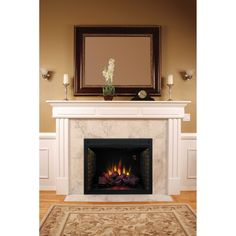 Classic Flame 39 in. Electric Fireplace Insert - 39EB500GRA