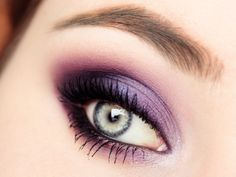 'UltraViolet' look by Szafkaaa using Makeup Geek's Corrupt, Duchess, Ice Queen, White Lies, Wisteria, and Rockstar eyeshadows along with Immortal gel liner and Bewitched pigment.