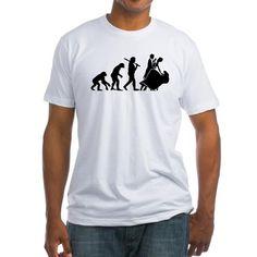Ballroom Dance Evolution Shirt on CafePress.com