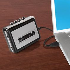 The Best Portable Cassette To MP3 Converter - Hammacher Schlemmer