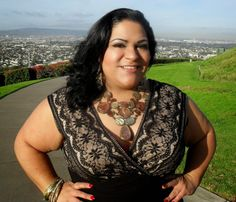 """Review of this gorgeous """"Jessica Howard"""" dress from my latest @Gwynnie Bee subscription http://bbwgeneration.blogspot.com/2014/02/feeling-old-hollywood-in-this-lace-tier.html #BBWGeneration #MizLiz #PlusSize"""