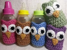 Hey, I found this really awesome Etsy listing at http://www.etsy.com/listing/130239461/crochet-owl-baby-bottle-cozy-sleeve-5