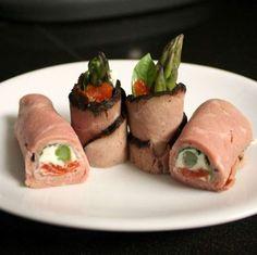 Halloween: Recetas de aperitivos - Mini rollitos con ojos