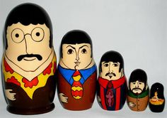 Matryoshkas: 12 Most Creative Russian Nested Dolls (matryoshkas, nesting dolls) - ODDEE