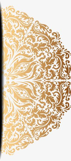 png gaida vector painted gold pattern vector hand painted gold pattern png and vector stopboris Images