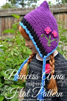 How Too: Frozen inspired Princess Anna hat! overtheappletree_princess_anna_crocheted_hat_01