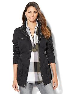 Shop Hooded Anorak Jacket