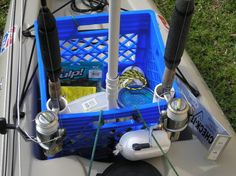 DIY ideas for outfitting your fishing kayak.
