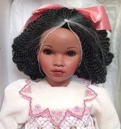 "Pauline Bjonness-Jacobsen ""Desiree"" Porcelain Doll NIB LE 56/950 22"" COA #PaulineBjonnessJacobsen"