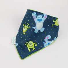 Disney fabric | dribble bib | teething bib | drool bib Teething Bibs, Disney Fabric, Dribble Bibs, Monsters Inc, Disney Pixar, Baby, Bibs, Baby Humor, Infant