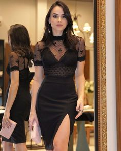 8 People That Asked to Be Insulted and the Internet Brutally Delivered Black Skirt Outfits, Dress Outfits, Sexy Dresses, Short Dresses, Fashion Dresses, Elegant Woman, Ladies Night Outfit, Dark Fashion, Classy Dress