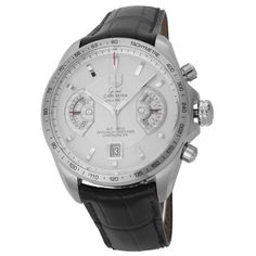 TAG Heuer Men's CAV511B.FC6231 Grand Carrera Chronograph Calibre 17 RS Watch from TAG Heuer @ TAG-Heuer-Watches .com