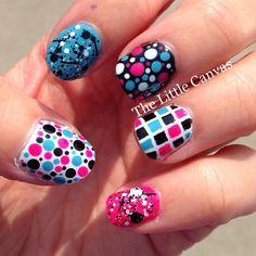 Instagram photo by thelittlecanvas  #nail #nails #nailart